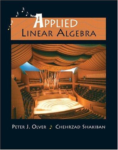 9780131473829: Applied Linear Algebra