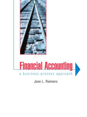 9780131473867: Financial Accounting: A Business Process Approach (2nd Edition)