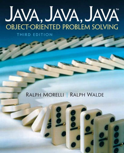 9780131474345: Java, Java, Java, Object-Oriented Problem Solving (3rd Edition)