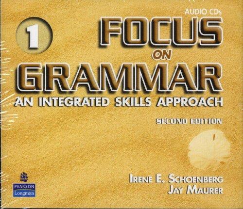 9780131474734: Focus on Grammar 1 Audio CDs (2): Introductory
