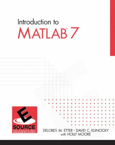 9780131474925: Introduction to MATLAB 7