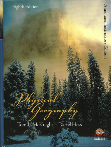 9780131475373: PHYSICAL GEOGRAPHY-W/CD