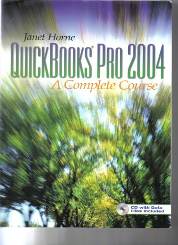 9780131477797: Quickbooks Pro 2004: Complete Course