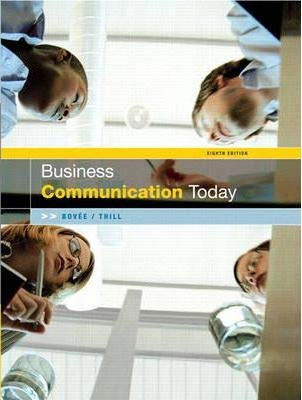 9780131478602: Business Communication Today
