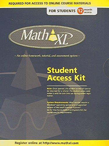 9780131478923: Mathxl Std Sa 12m Acc PH