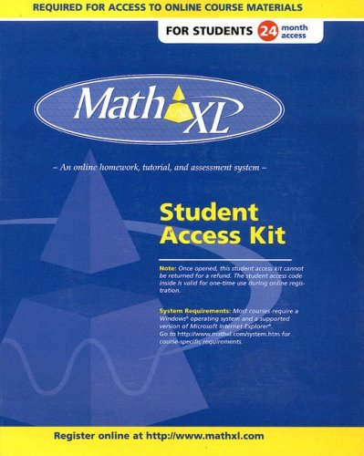 9780131478978: MathXL Student Access Kit