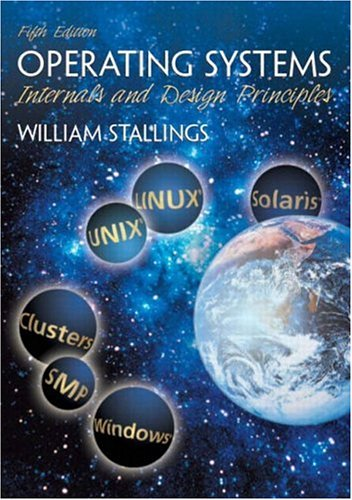 9780131479548: Operating Systems: Internals and Design Principles (5th Edition) (GOAL Series)