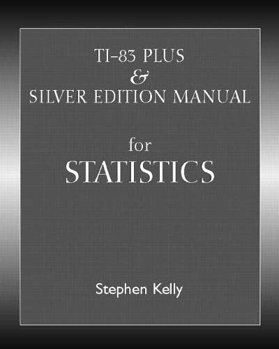 9780131480230: TI-83 Plus/Silver Manual (2nd Edition)