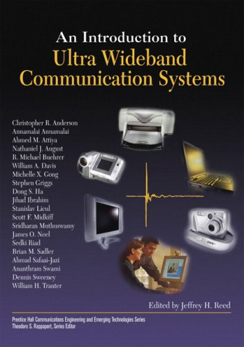 9780131481039: An Introduction to Ultra Wideband Communication Systems