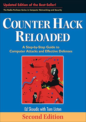 9780131481046: Counter Hack Reloaded: A Step by Step Guide to Computer Attacks and Effective Defenses (Prentice Hall Series in Computer Networking and Distributed Systems)