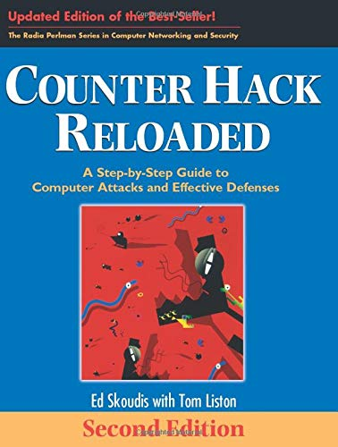 9780131481046: Counter Hack Reloaded: A Step-by-Step Guide to Computer Attacks and Effective Defenses (2nd Edition) (Radia Perlman Series in Computer Networking and Security)