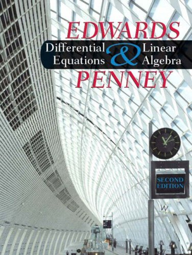 9780131481466: Differential Equations and Linear Algebra