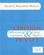 Applications Manual for Differential Equations and Linear: Henry Edwards