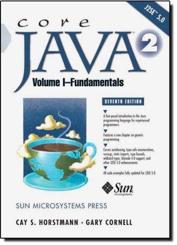 9780131482029: Core Java™ 2, Volume I--Fundamentals (7th Edition)