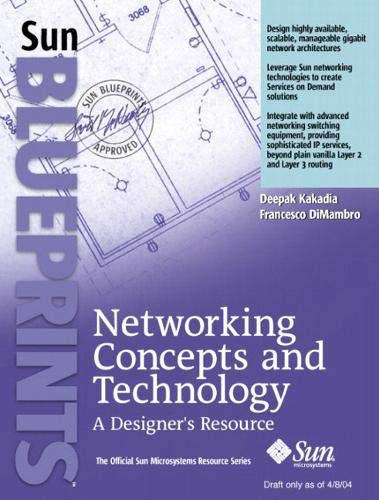 9780131482074: Networking Concepts and Technology: A Designer's Resource