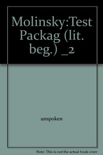 Molinsky:Test Packag (lit. beg.) _2: unspoken