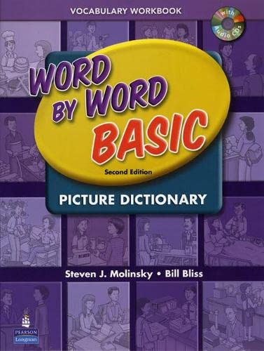 9780131482333: Word by Word Basic Picture Dictionary Vocabulary Workbook with Audio CDs