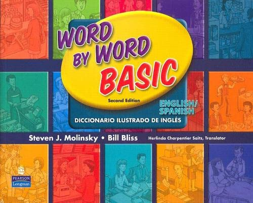 9780131482340: Word by Word Basic English/Spanish Bilingual Edition (2nd Edition)