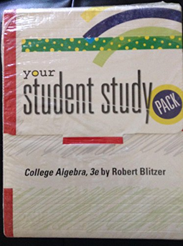 9780131483033: College Algebra - Student Solutions Manual and CD-Lecture Series
