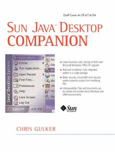 9780131483378: Sun Java Desktop Companion