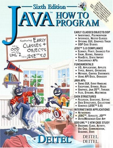 9780131483989: Java How to Program (6th Edition)