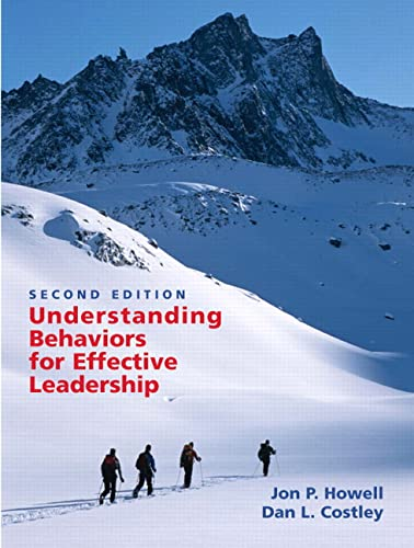 9780131484528: Understanding Behaviors for Effective Leadership (2nd Edition)