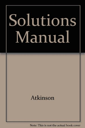9780131484610: Solutions Manual