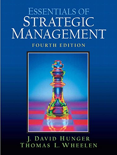 9780131485235: Essentials Of  Strategic Management