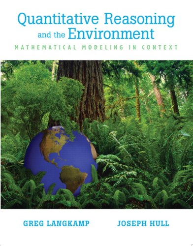 9780131485273: Quantitive Reasoning & the Environment: Mathematical Modeling in Context