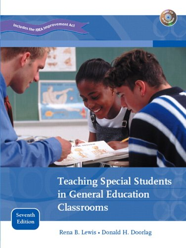 9780131486355: Teaching Special Students in General Education Classrooms (7th Edition)