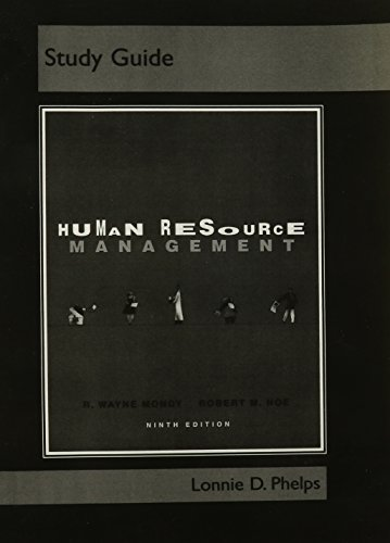 9780131486744: Study Guide for Human Resource Management, 9th edition