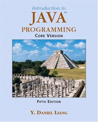 9780131489530: Introduction to Java Programming Core Vision (5th Edition)