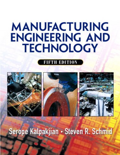 9780131489653: Manufacturing Engineering and Technology