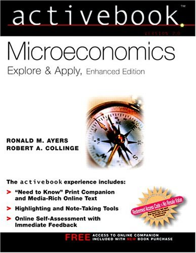 9780131489707: Microeconomics ActiveBook Enhanced for Microeconomics Active Book Enhanced with OneKey CourseCompass Package (Prentice Hall Series in Economics)