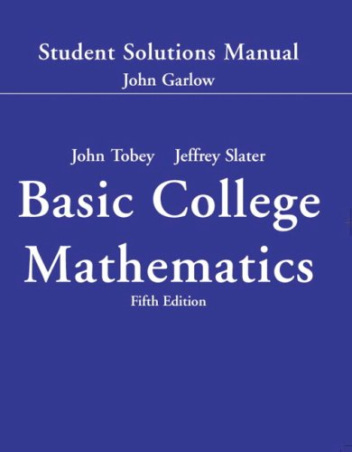 9780131490611: Student Solutions Manual - Standalone