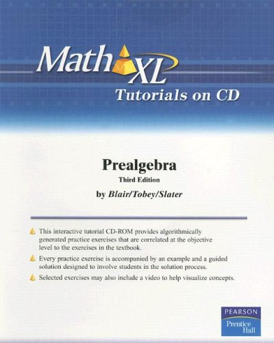 9780131491298: Prealgebra (Math XL)