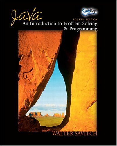 9780131492028: Java: An Introduction to Problem Solving and Programming (4th Edition)