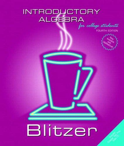 9780131492622: Introductory Algebra