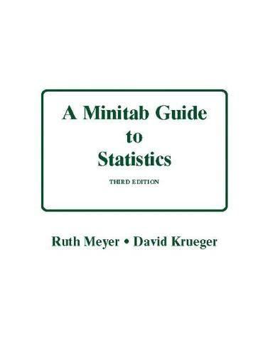 9780131492721: Minitab Guide to Statistics (3rd Edition)