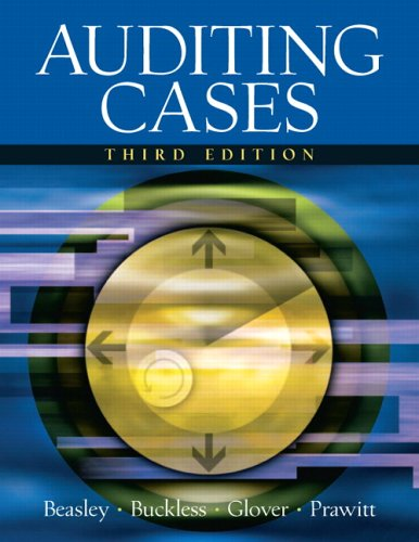 9780131494916: Auditing Cases (3rd Edition)