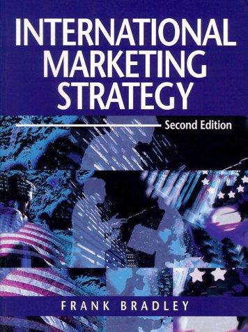 9780131495272: International Marketing Strategy (2nd Edition)