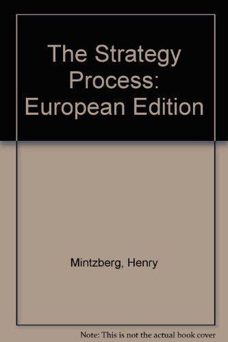 9780131496262: The Strategy Process: Concepts, Contexts and Cases