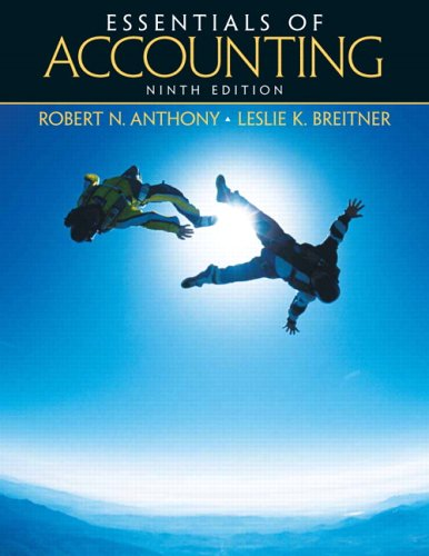 9780131496934: Essentials of Accounting (9th Edition)
