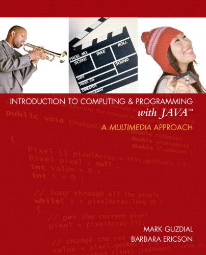 9780131496989: Introduction to Computing and Programming with Java: A Multimedia Approach