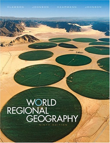 9780131497030: World Regional Geography (9th Edition)