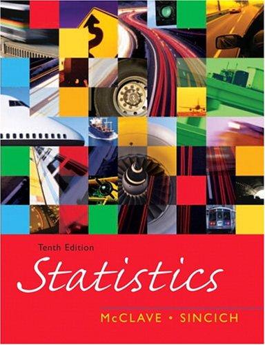 9780131497559: Statistics (10th Edition)