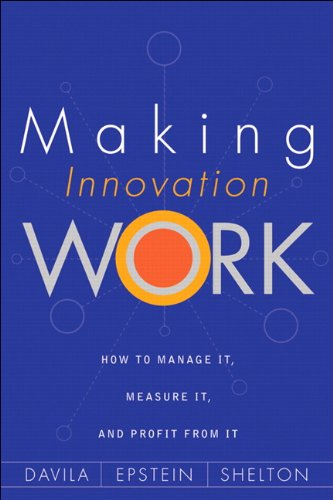 Making Innovation Work : How to Manage: Robert Shelton; Marc