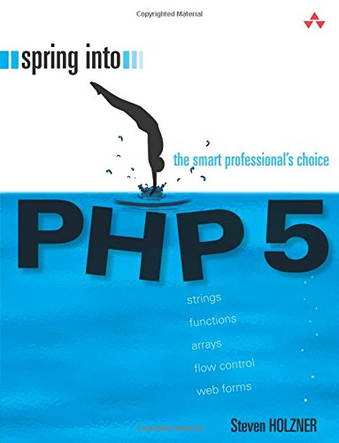 9780131498624: Spring into PHP 5