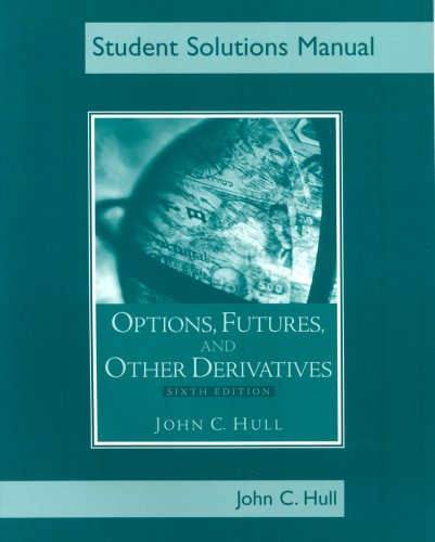 9780131499065: Students Solutions Manual for Options, Futures, and Other Derivatives, Sixth Edition