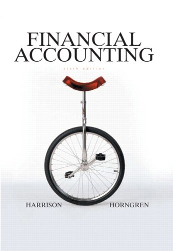 9780131499454: Financial Accounting (6th Edition) (Prentice Hall Series in Accounting)